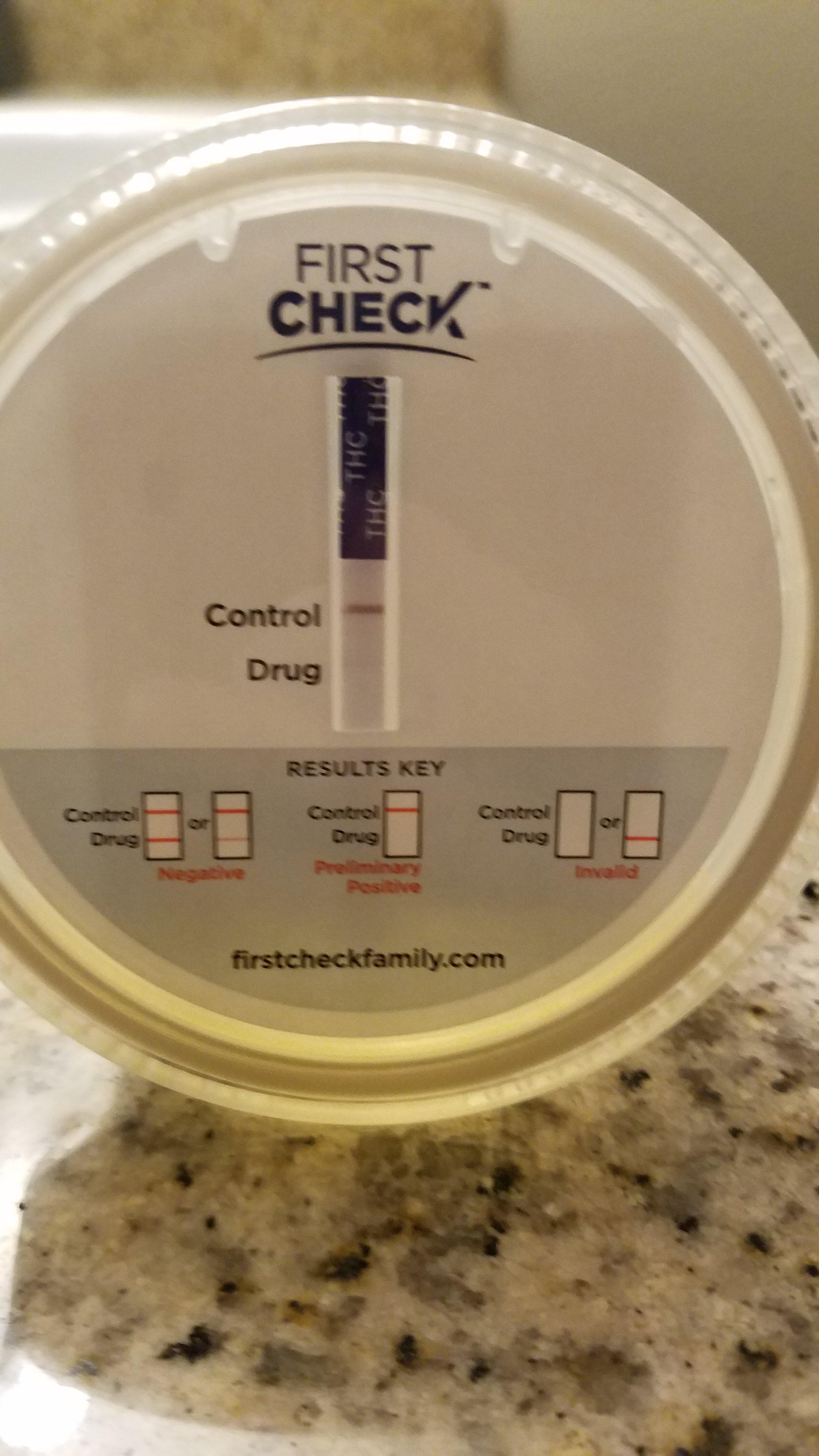 First Check Drug test faint line Question | Grasscity Forums