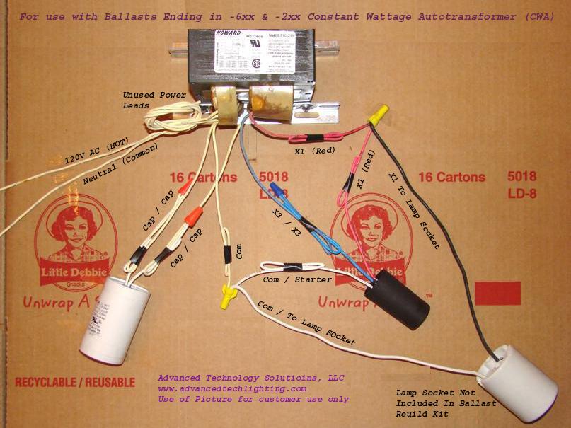 6xx2xxcontsantwattageautotransformerballastdiagram: Hps Ballast Wiring Diagram At Submiturlfor.com