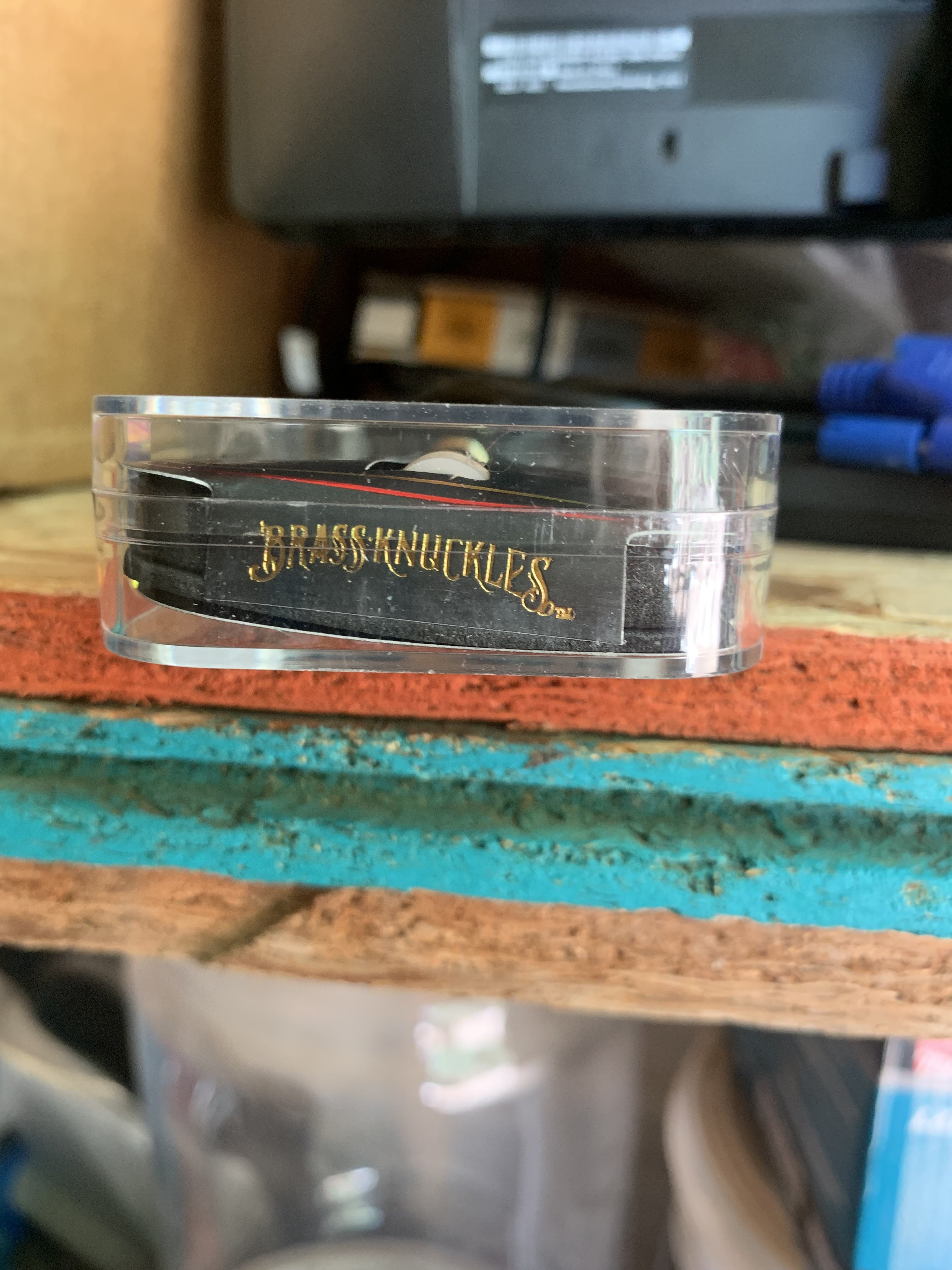 Fake Brass Knuckles Cartridge? | Grasscity Forums - The #1