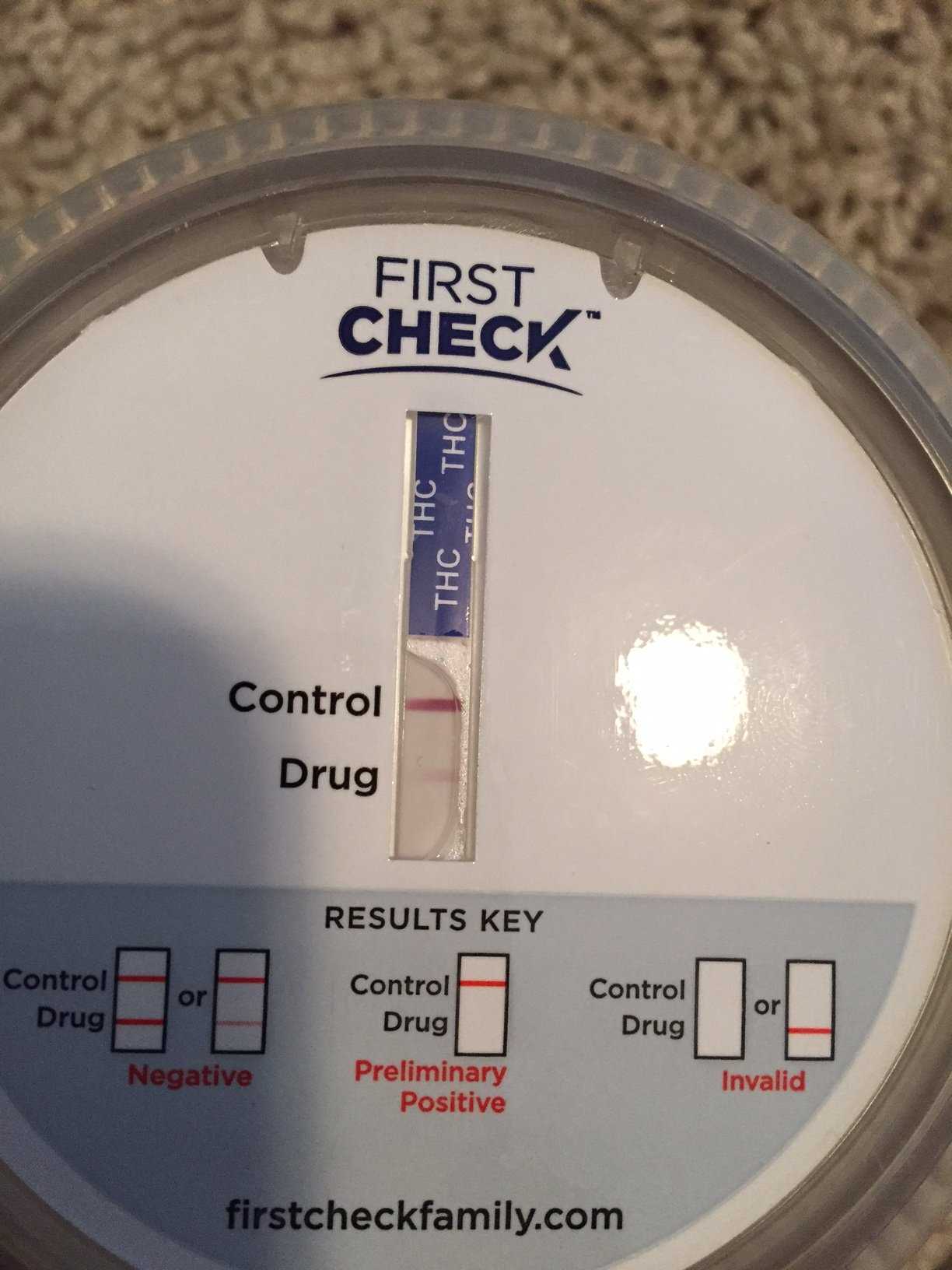 First Check Drug test faint line Question | Grasscity Forums - The