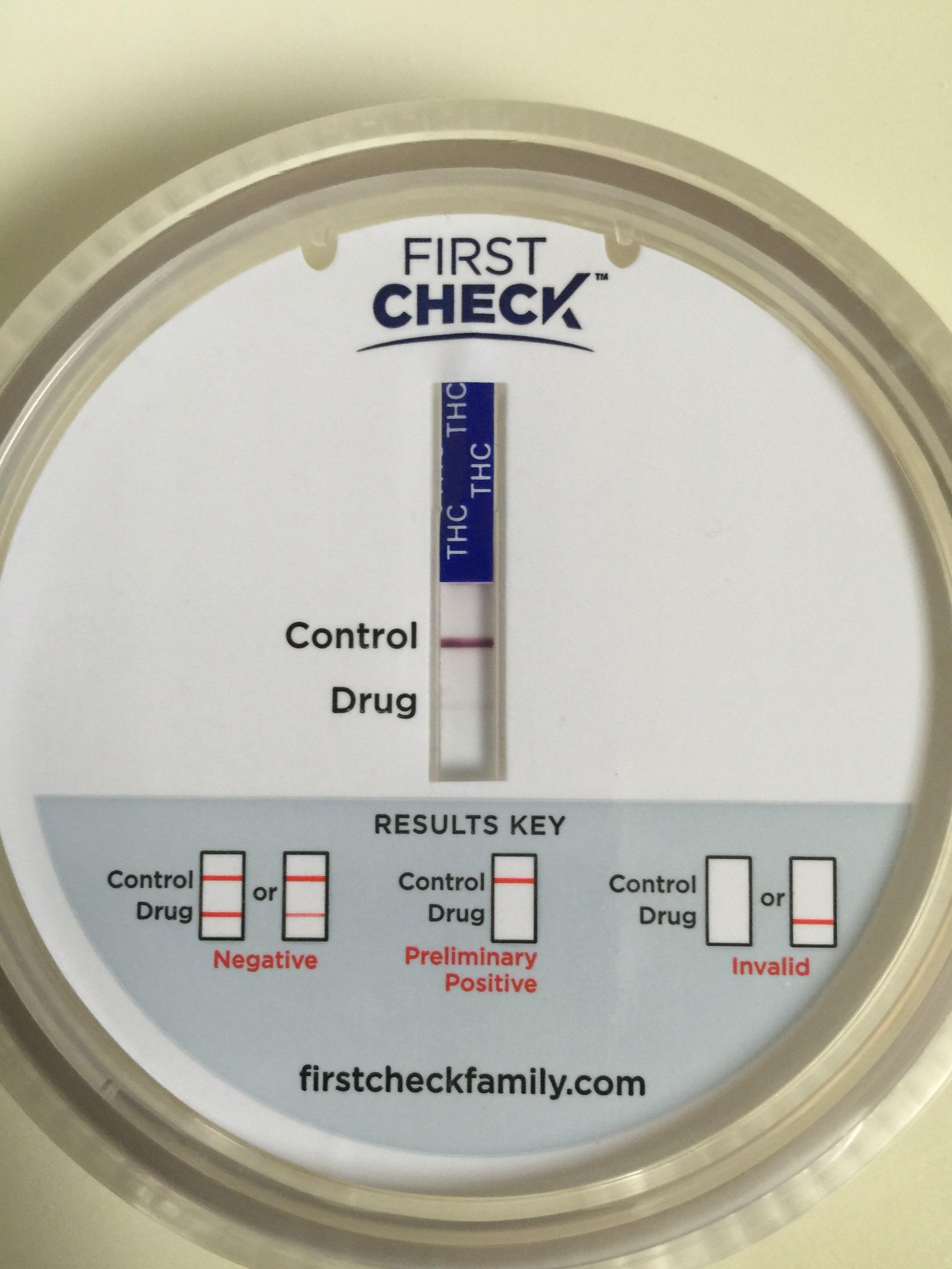 Drug Test Results Invalid after