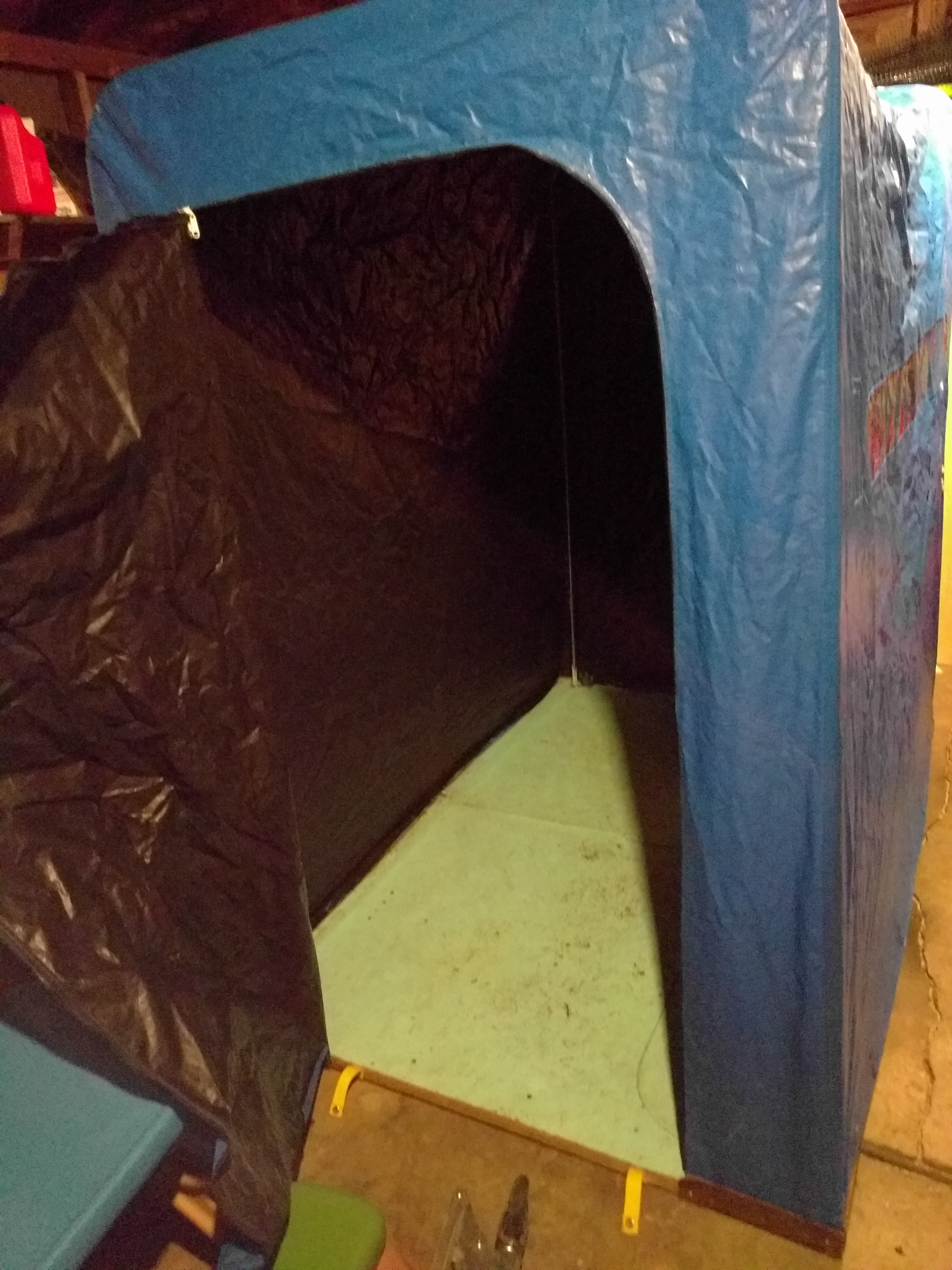 Album Possible Grow Tent Setup & Upcycled Ice Shanty Grow Tent Build Setup Questions | Grasscity Forums